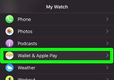 शीर्षक वाली छवि एक सेब घड़ी चरण 3 में एक क्रेडिट कार्ड जोड़ें