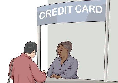 Hvordan søke om et kredittkort mens du er på college