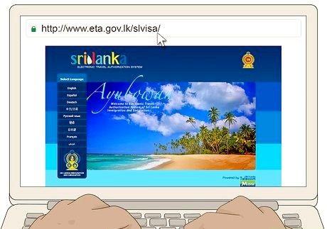 श्रीलंका के लिए वीज़ा के लिए आवेदन कैसे करें
