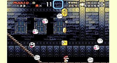 Wie man vanille ghost house in super mario world besiegt