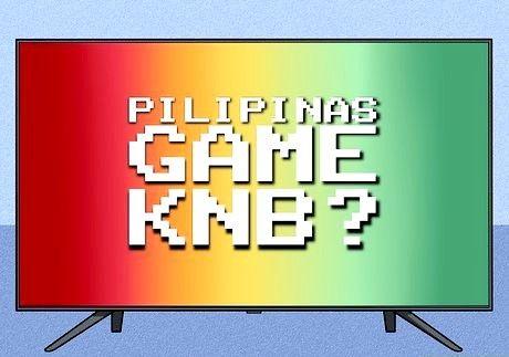 खेल का ना बीए टीवी गेम शो के प्रशंसक कैसे बनें