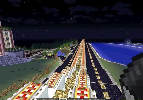 Hvordan bygge et jernbanesystem på minecraft