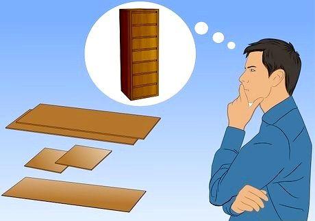 एक लंबा दराज छाती कैसे बनाएं