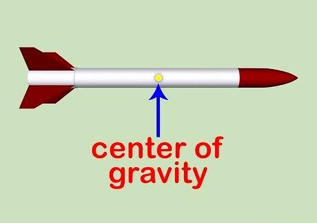 एक मॉडल रॉकेट की स्थिरता की गणना कैसे करें
