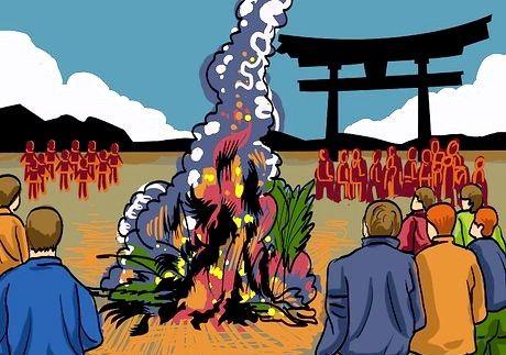 Bildet med tittelen feire et japansk nyttår