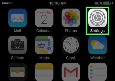 एक iPhone पर पृष्ठभूमि कैसे बदलें