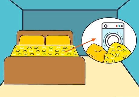 बेकिंग सोडा के साथ एक बिस्तर कैसे साफ करें