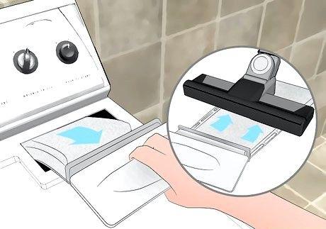 स्वच्छ एक वॉशर और ड्रायर चरण 6 शीर्षक वाली छवि