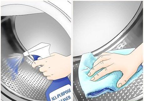 स्वच्छ एक वॉशर और ड्रायर चरण 11 शीर्षक वाली छवि