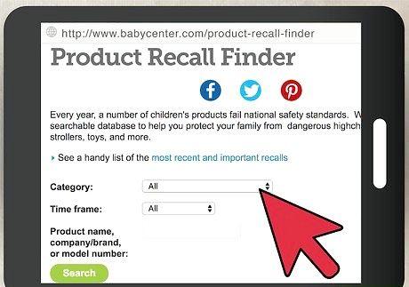 बेबी उत्पाद के साथ सौदा शीर्षक चरण 3 को याद करता है