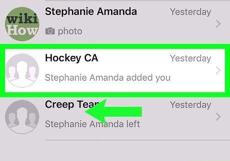 आईफोन या आईपैड चरण 2 पर व्हाट्सएप पर एक समूह को हटाएं