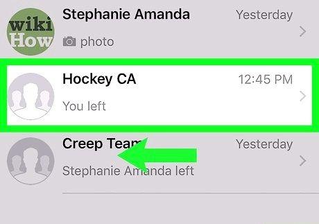आईफोन या आईपैड चरण 6 पर व्हाट्सएप पर एक समूह को हटाएं