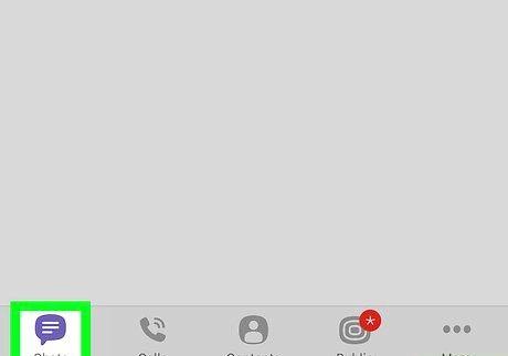 आईफोन या आईपैड चरण 2 पर एक Viber समूह को हटाएं