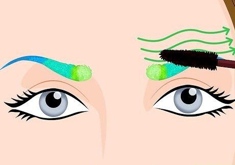 Do Glitter Eybrows चरण 8 शीर्षक वाली छवि