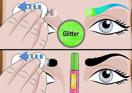 Do Glitter Eybrows शीर्षक 12 शीर्षक वाली छवि