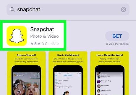 स्नैपचैट ऐप चरण 5 डाउनलोड करें शीर्षक