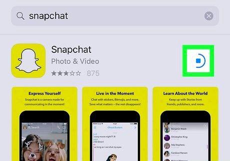 स्नैपचैट ऐप चरण 8 डाउनलोड करें शीर्षक