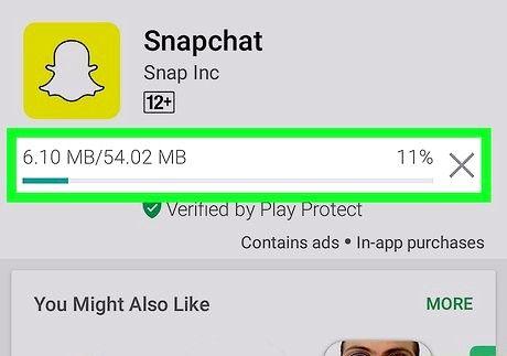 स्नैपचैट ऐप चरण 16 डाउनलोड करें शीर्षक