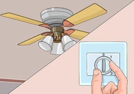 Cómo arreglar un ventilador de techo de chirrido