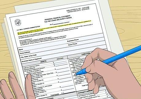 Bilde med tittelen Samle informasjon for et forretningslånsapplikasjon Trinn 3