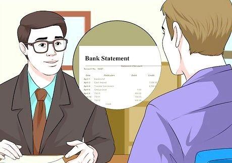 Bilde med tittelen Samle informasjon for et forretningslånsapplikasjon Trinn 4
