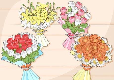 माँ के दिन के लिए अपनी माँ के लिए फूल कैसे प्राप्त करें