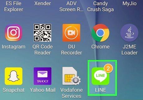 एंड्रॉइड चरण 9 पर फ्री लाइन ऐप सिक्के शीर्षक वाली छवि