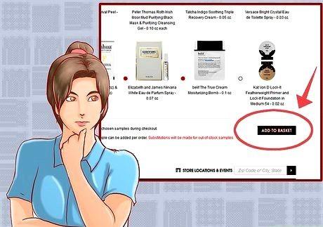 Bilde med tittelen Få gratis produkter på Sephora Stores Trinn 8