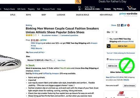 Bildetittel Få gratis produkter fra Amazon for gjennomgang Trinn 16
