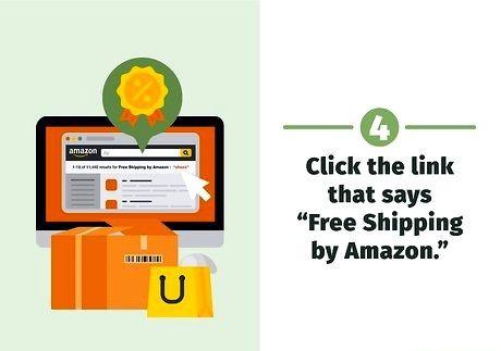 शीर्षक वाली छवि Amazon चरण 4 पर मुफ्त शिपिंग प्राप्त करें