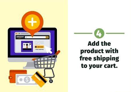 शीर्षक वाली छवि Amazon चरण 19 पर मुफ्त शिपिंग प्राप्त करें