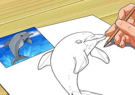 Bildens tittel bli god til å tegne trinn 6