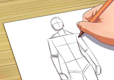 Bildens tittel bli god til å tegne trinn 13