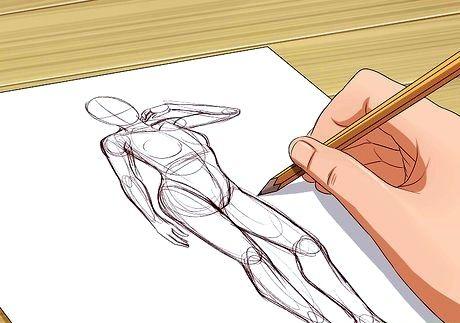 Bildens tittel bli god til å tegne trinn 14