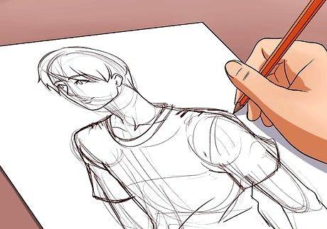 Bildens tittel bli god til å tegne trinn 15