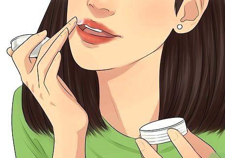 Hvordan få nydelige, klumpete lepper