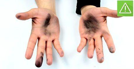 Hvordan få hårfarge av hendene dine
