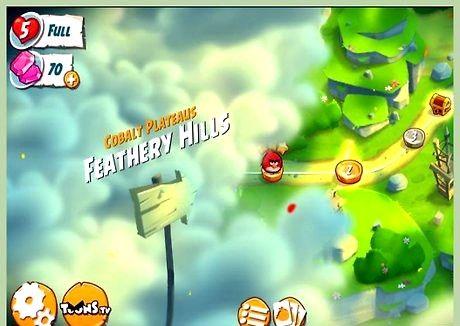 Slik får du høy score i angry birds 2