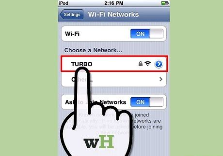 छवि शीर्षक आईपॉड टच चरण 4 पर इंटरनेट प्राप्त करें