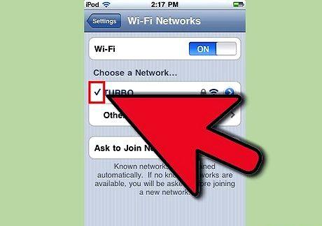 छवि शीर्षक आईपॉड टच चरण 5 पर इंटरनेट प्राप्त करें