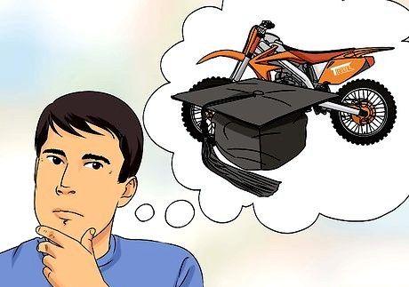Hvordan komme seg inn i motocross
